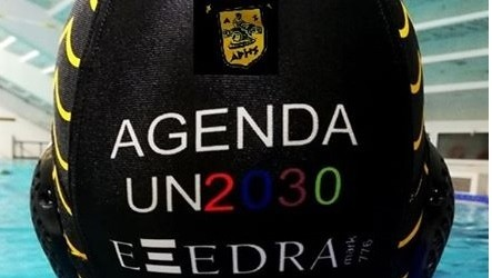 2020,January, EXEDRAMark s1 proudly sponsoring the ARIS water polo. historic club's events and activities