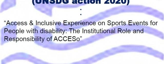 2020, September, H  ελληνική υποψηφιότητα για τα  UN SDG  2020 awards